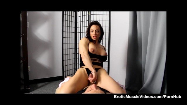 Tit stroking videos Eroticmusclevideos brandimae muscle handjob