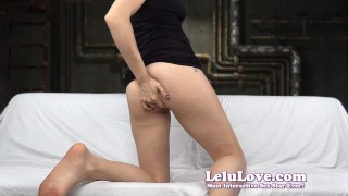 Lelu Love-FemDom Punishment Games  homemade teasing tease flashing hd humiliation foot amateur solo soles instruction fetish domination natural-tits lelu-love brunette feet