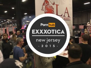 Diamond kitty & burke tyler at exxxotica 2015 with pornhub aria pornhubtv