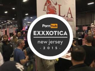 Diamond kitty & burke tyler at exxxotica 2015 with pornhub aria pornhubtv
