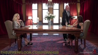 Stepdaughter domination stepmother and theupperfloor stepdaughter