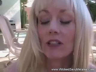 Embarradding Moment For Melanie