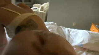 Getting to creampie April Brookes twice!