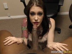 Hooker Anna de Ville takes anal fucking at police station