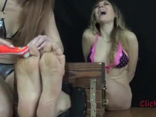 Delicious Ticklish Feet