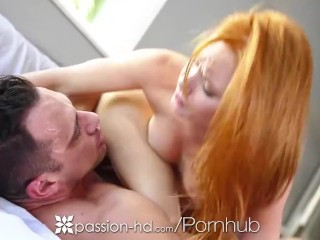 Passion-HD - Threesome with Maci Winslett and redhead Alex Tanner