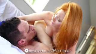 Passion HD Threesome with Maci Winslett and redhead Alex Tanner