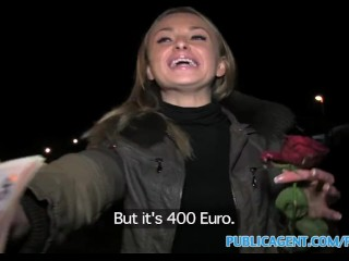 PublicAgent Loud sex with hot russian babe