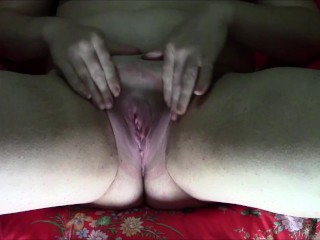 Chubby Geeky Girl Pussy Pump and Delight toy