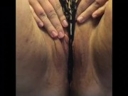 BBW Pussy Panty Play