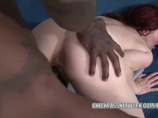 Curvy swinger Jessica Ryan gets nailed with a black dick