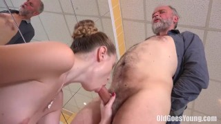 Old Goes Young - Glory wants this guy porno