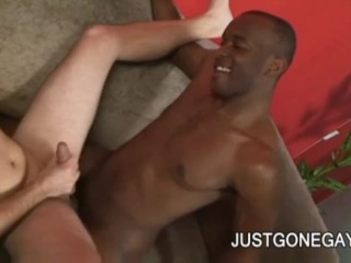 Justyn Blade - BBC Penetrating A Tight White AssHole