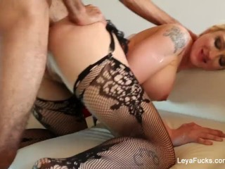 Leya Falcon wants her ass fucked harder