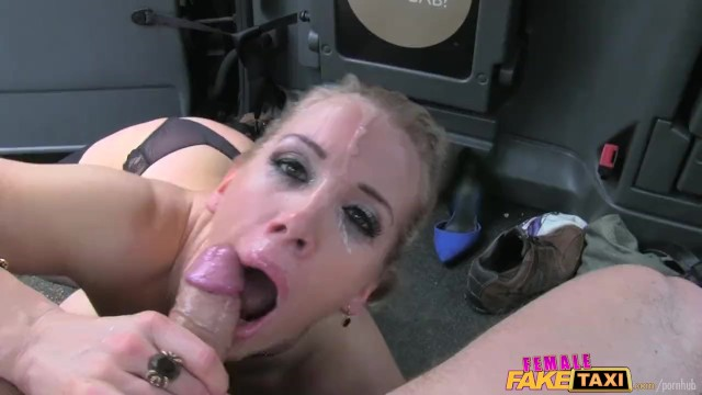Taxi sex live Femalefaketaxi marine gives driver a good fuck