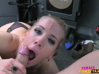 Femalefaketaxi marine gives driver a good fuck - 50 part 4