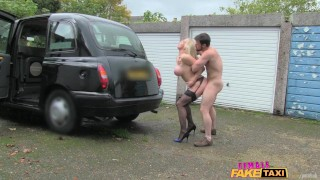 FemaleFakeTaxi Marine gives driver a good fuck porno