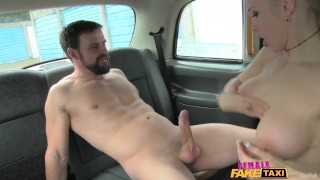 Femalefaketaxi gives good fuck marine driver a sex big