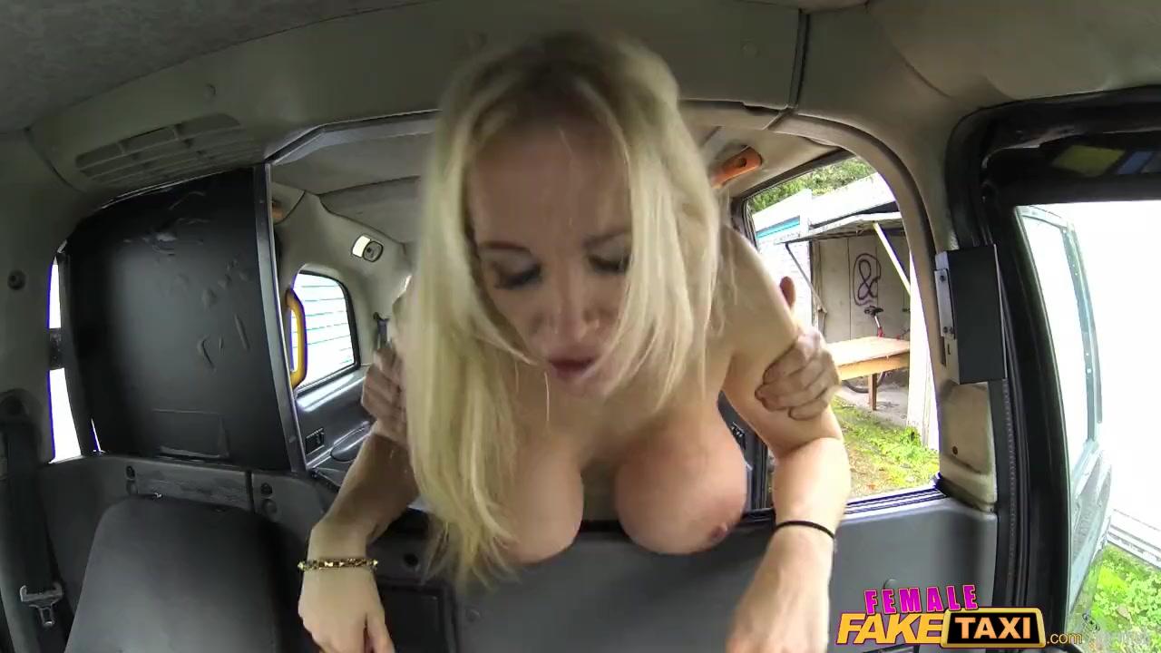 Femalefaketaxi marine gives driver a good fuck 8