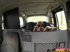 FemaleFakeTaxi Sexy driver loves a hard cock