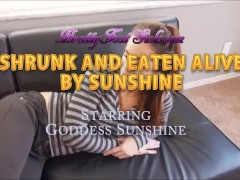 Eaten Alive By Sunshine Brattyfootgirls.com