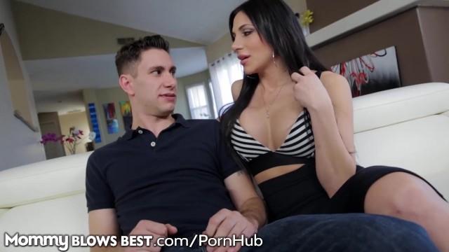 MILF chytil sledovanie porno