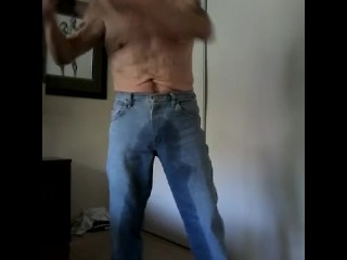 taking off my piss-soaked Wranglers