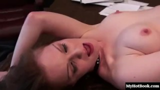 Redheaded amateur, Jade Houston is in the clutches of the sex crazed, Marie  toys lesbian brunette mature oral sex red head one masturbation strapon