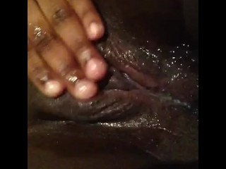 My First Time Ever Sticking A Finger Inside of My Pussy