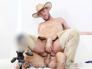 GayCastings - Hung Bottom Alex Mason Pounded at Porn Audition