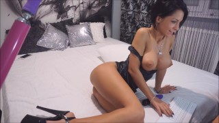 Anisyia Livejasmin Latex Extreme High-Heels ANAL blowjob fucking-machine  ass fuck big ass recorded private fucking machine big tits extreme high heels big cock tattoo fetish brunette petite latex anal romania sex machine