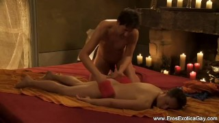 Partners Experiment With Massage