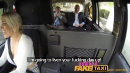 FemaleFakeTaxi - Interracial,