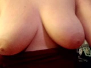 Boob play ;)