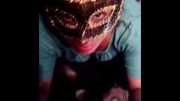 Masked whore POV