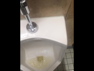 Pissing in Local Grocery Store