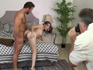 Complete behind the scenes of Nickey Huntsman getting plowed by Chad White