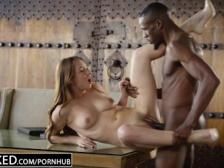 Valentina Bianco Cumlouder BLACKED Hot Model Taylor Sands Takes BBC