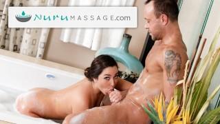 karlee Grey takes Older Man for Nuru Massage