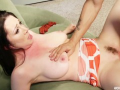 True Milf - Hot bigtits MILF Rayveness pounded full of cock