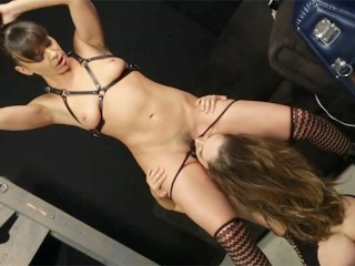 Archangelvideo/pussy licking/with dominated remy s babe by