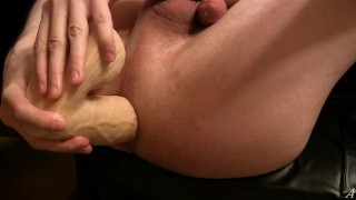 First time big plug & big dildo, homemade anal (D6)