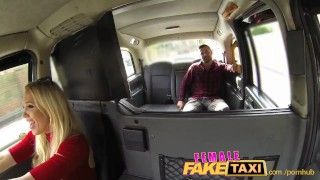 FemaleFakeTaxi Welsh lad gets a sweet surprise Point of