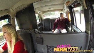 FemaleFakeTaxi Welsh lad gets a sweet surprise Hardcore fucks