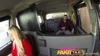 FemaleFakeTaxi Welsh lad gets a sweet surprise Cock hairy