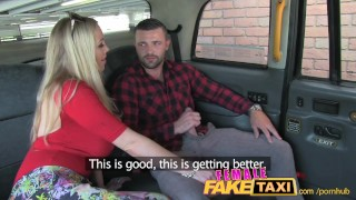 FemaleFakeTaxi Welsh lad gets a sweet surprise Brother young