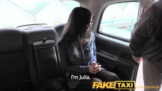Preview 5 of FakeTaxi Spanish babe has great tits and ass