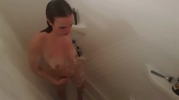 Sexy MILF Showers after Workout