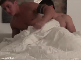 Straight GUY takes another Straight GUYS Anal Virginity.
