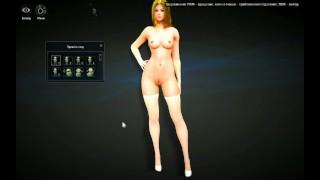 Black Desert Online NAKED MOD  sfm black desert online 3d porn hentai teasing